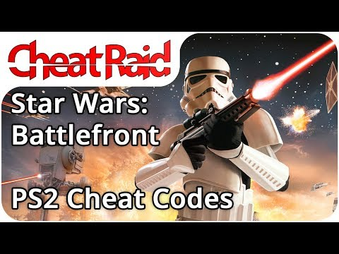 Star Wars Battlefront Cheat Codes Ps2 Youtube