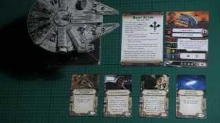 11th Legion Presents: X-Wing Miniatures Game: Millennium Falcon Unboxing & BatRep (1 of 4)