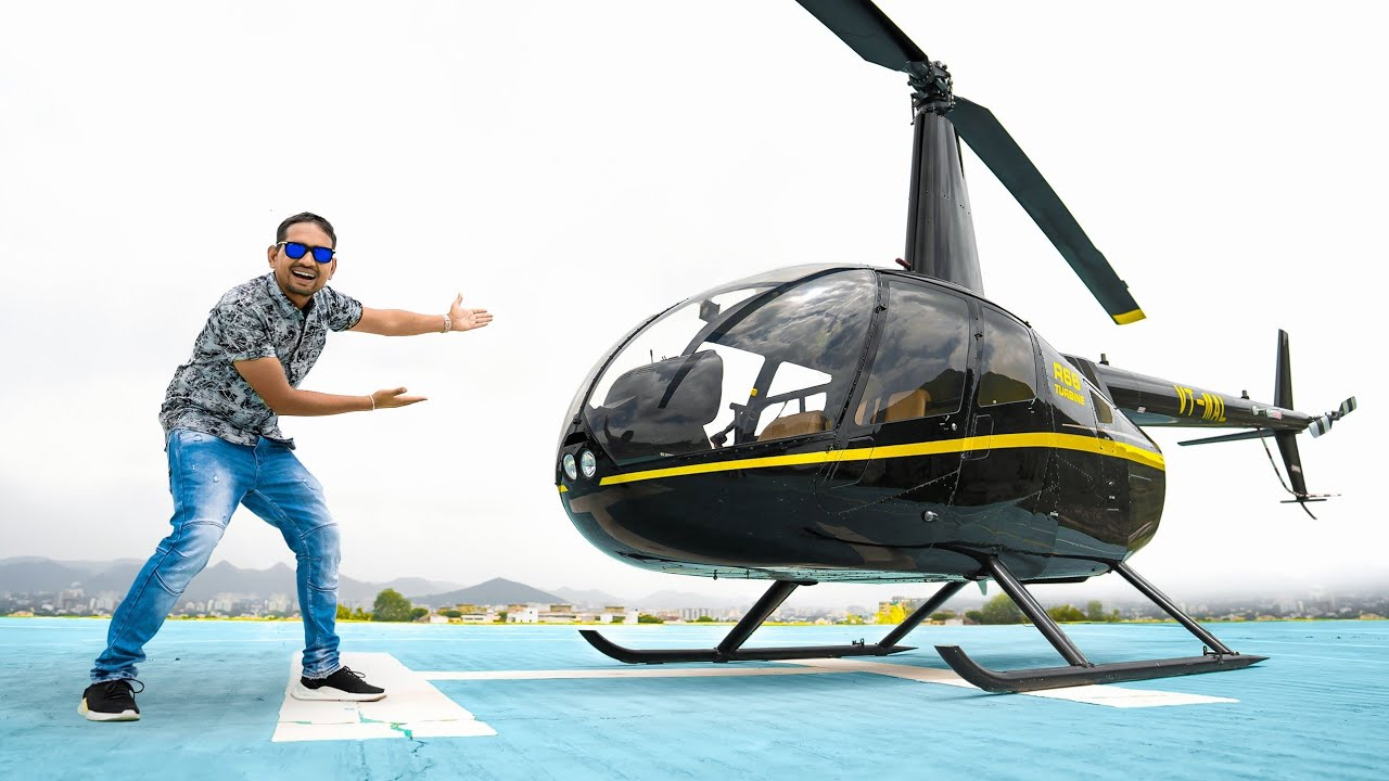 Flying Real Helicopter - Worth ₹16 Crore | 100% Real