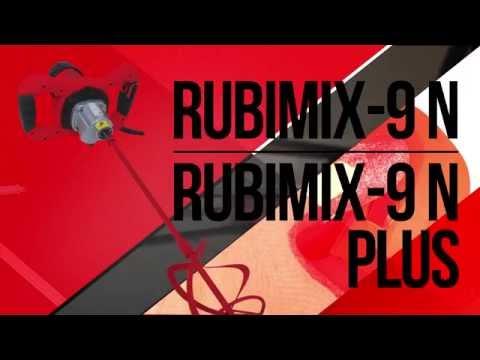 RUBIMIX 9 N - строительный миксер Rubi