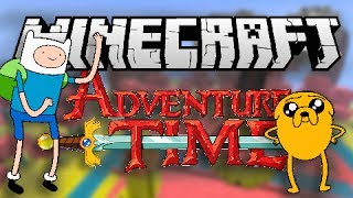 Minecraft: ADVENTURE TIME! (Finn and Jake) | Mod, Map & Texture Pack Spotlight (NEW)