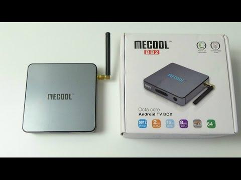 Обзор Mecool BB2 Android tv box 4k S912, 2GB RAM, 16GB ROM, Android 6.0, Bluetooth 4.0