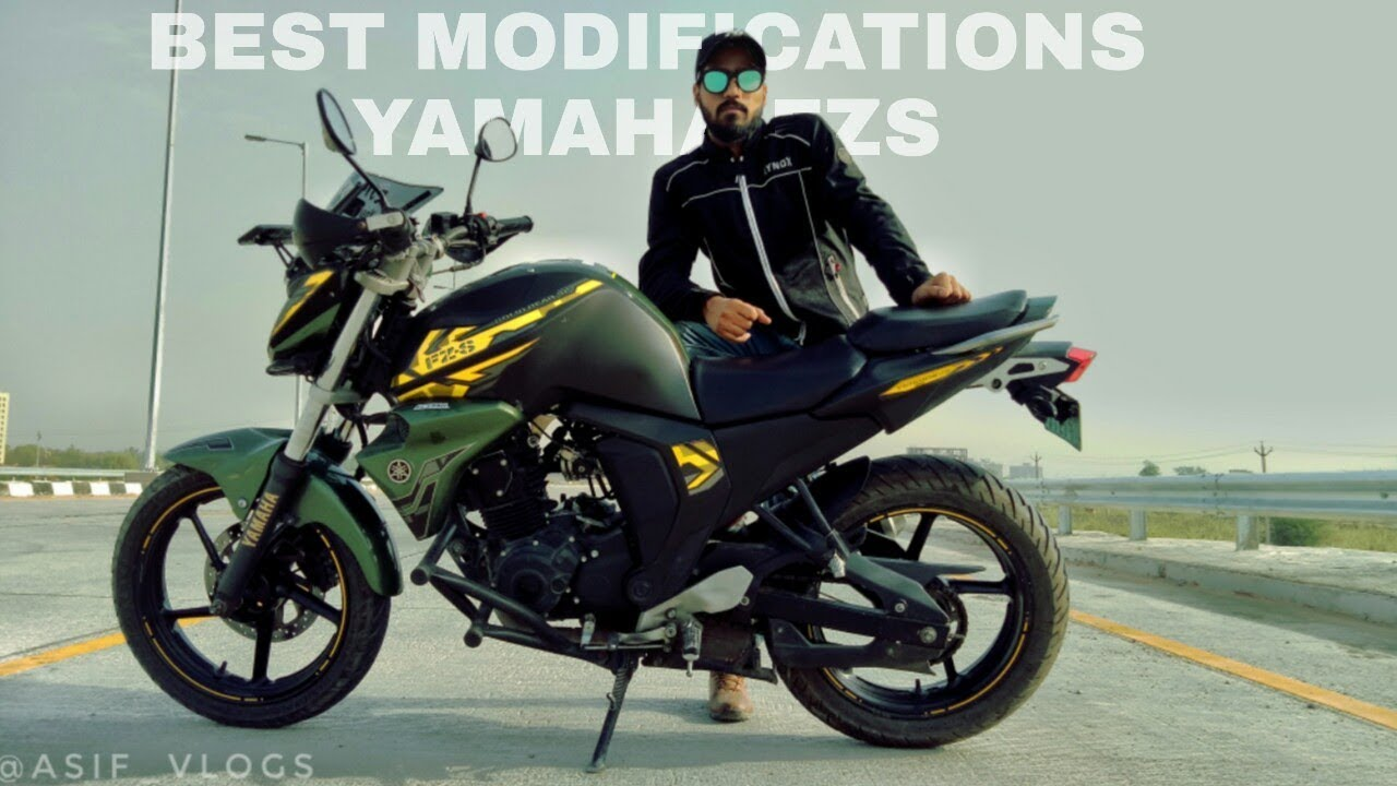 Best ever yamaha fzs modified fz modification