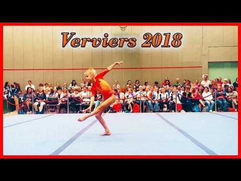 Turnen toernooi in Verviers 2018