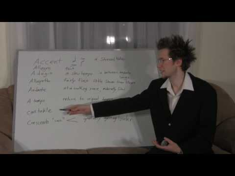#22 LEARN FREE MUSIC THEORY (TERMS LIST)
