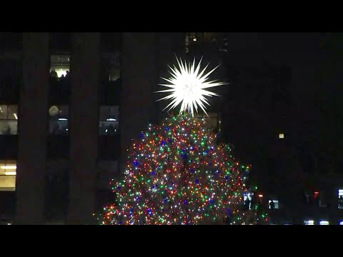Watch: 2018 Rockefeller Center Christmas Tree Lighting