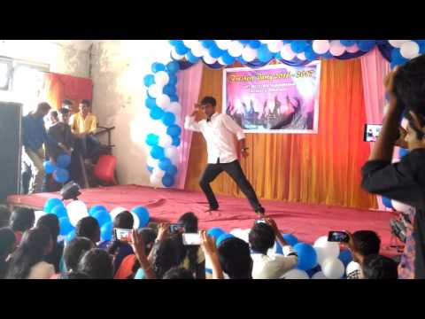 Prema kavali dance on freshers party
