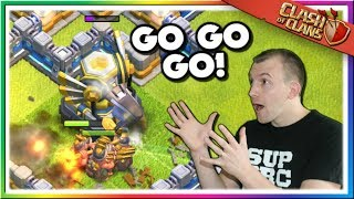 Queen Charge Miner Legend League Attacks | Clash of Clans