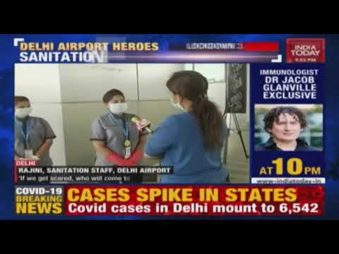 corona-warriors:-delhi-airport's-unsung-heroes-who-work-round-the-clock-to-keep-the-airport-safe