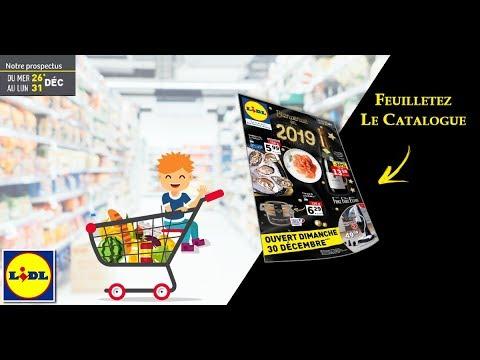 Catalogue Lidl Du 26 Au 31 Décembre 2018 – Monsieurechantillons.com