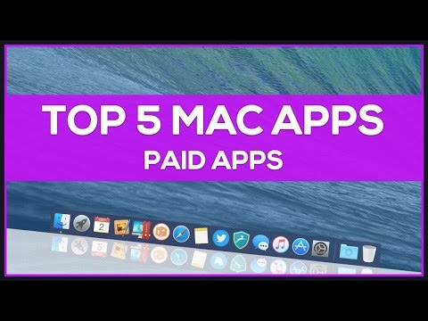 Top 5 Mac Apps (Paid Apps)