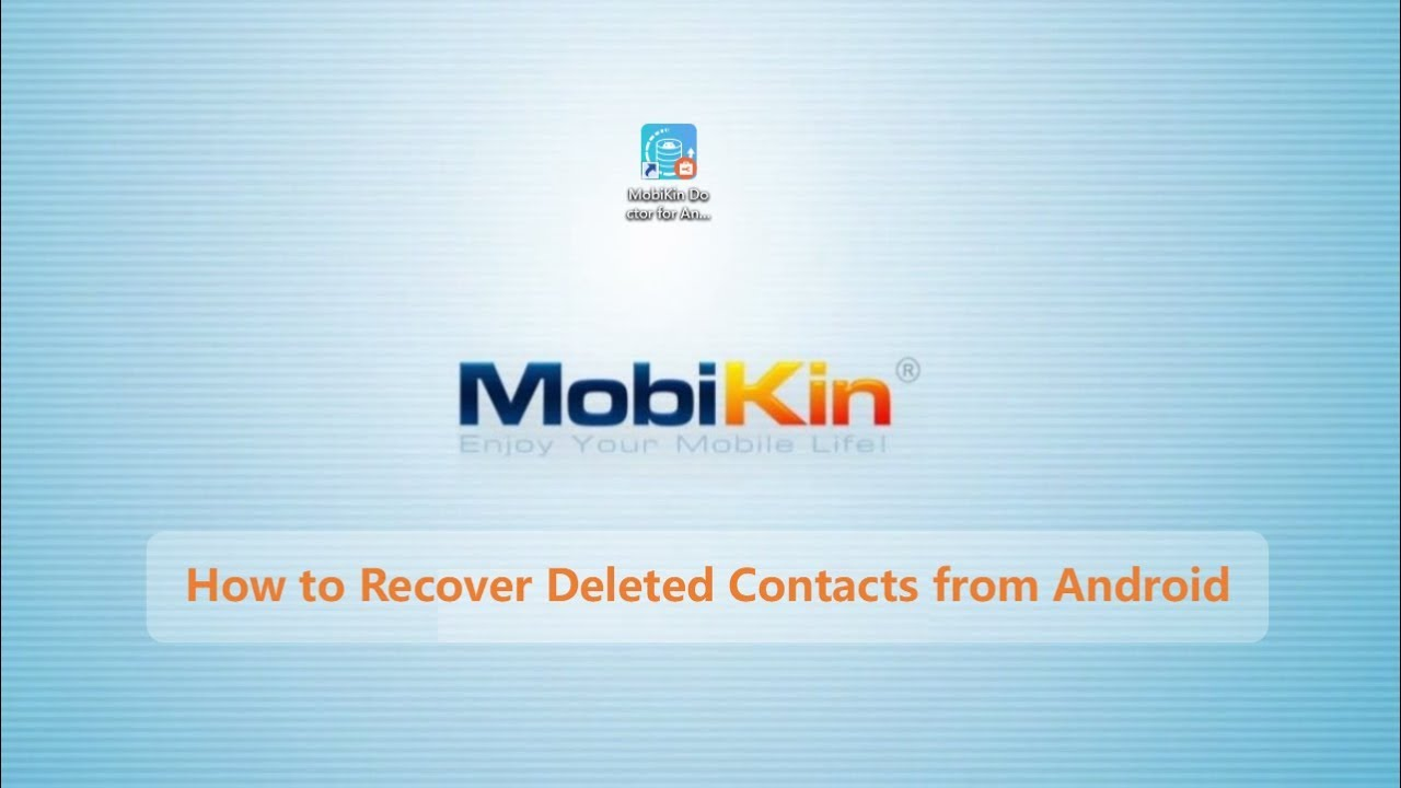 3 Methods to Recover Deleted Contacts from Android (#1 is