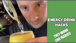 LIFE HACKS WITH ENERGY DRINKS YOU NEVER KNEW EXISTED  (Parody Magic Hacks from Rick Lax)