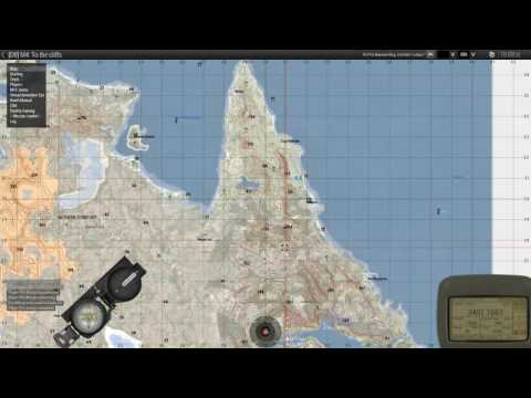 MILSIM Coop Mission - Reality Gaming - M4: To The Cliffs [720p]