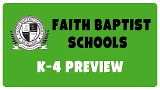 K4 Bible Lesson Preview