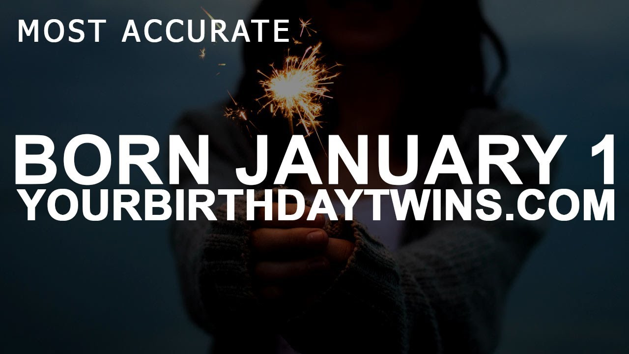 born on 1 january numerology
