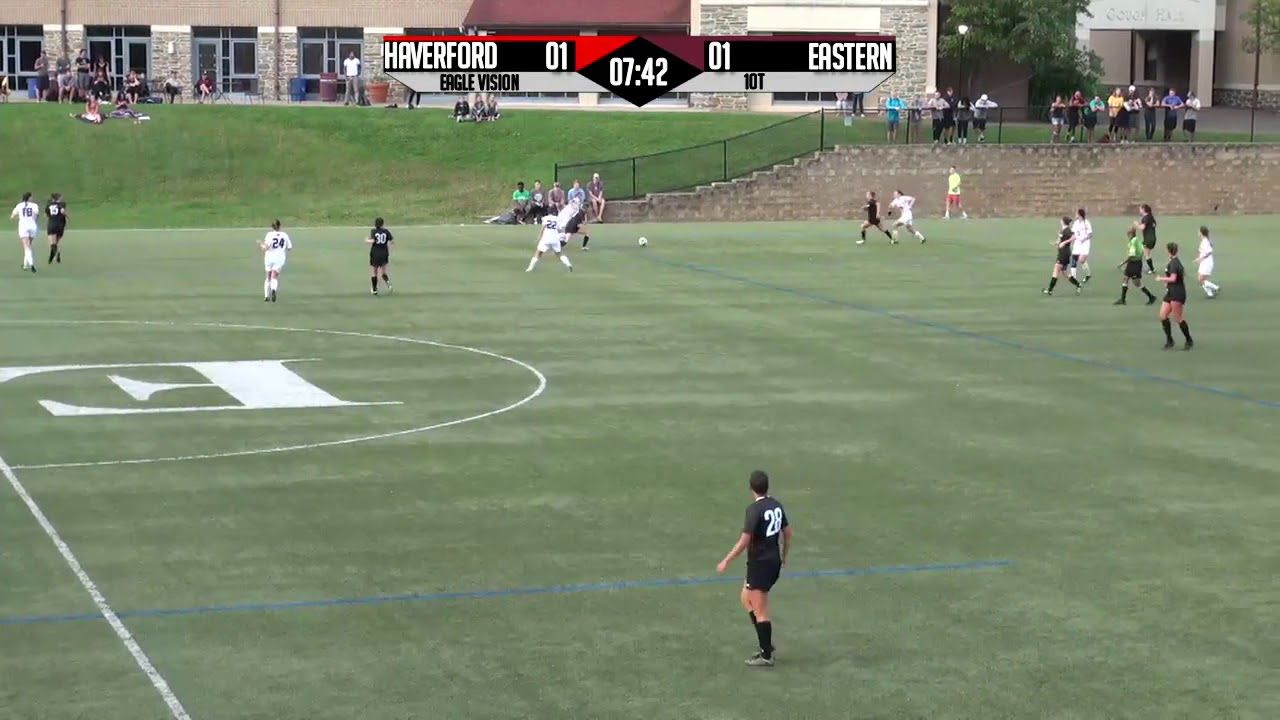 Women's Soccer HIghlights against Haverford - YouTube