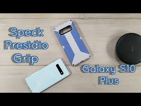 Speck Presidio Grip Galaxy S10 Plus Case Review...