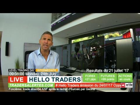 Emission Hello Traders du 24/07/17