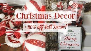 CHRISTMAS DECOR 2018 | + 80% off FALL DECOR | HAUL | HOBBY LOBBY