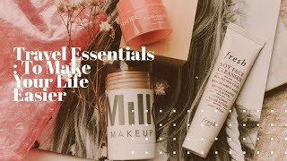 Travel Essentials: My Top 5 Products To Make Your Travel Life Easier