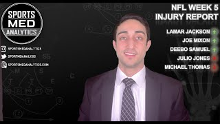 NFL Week 5 Injury Report - Dr. Chona SportsMedAnalytics