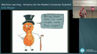 Machine Learning: Alchemy for the Modern Computer Scientist