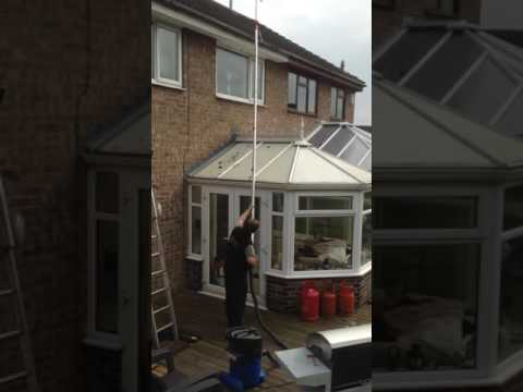 How to clean Gutters using a high tech Gutter Vac System , Call/Text 07866235291