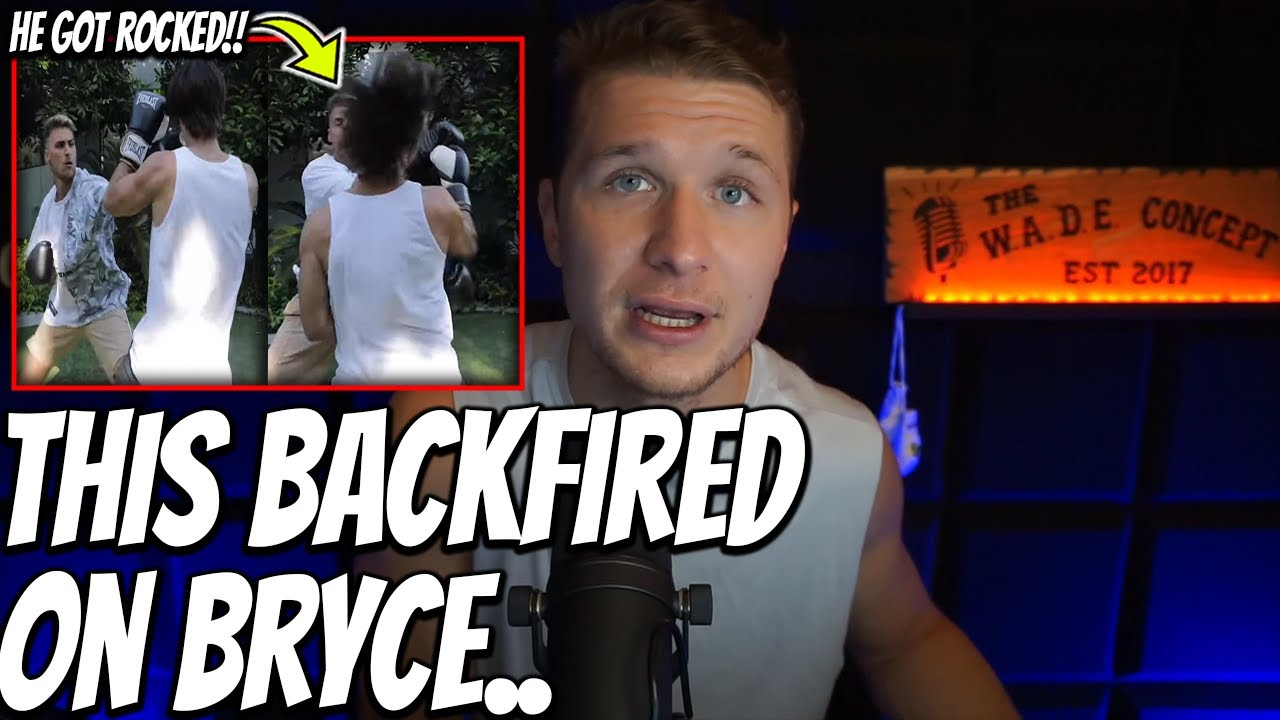 Bryce Hall Tried To *KO* An UNTRAINED YOUTUBER For Views l But FAILED.. Badly