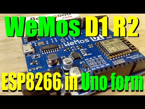 Introduction to the WeMos D1 R2