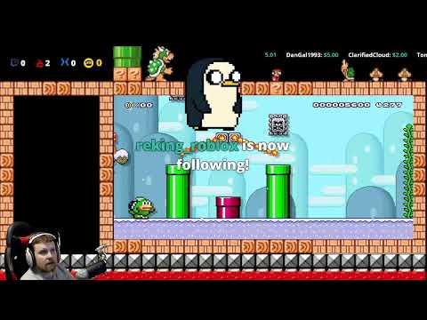 Mario Maker 2 - Special User 1 Level Stream