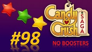 Candy Crush Saga! level 98 - 3 stars - no boosters