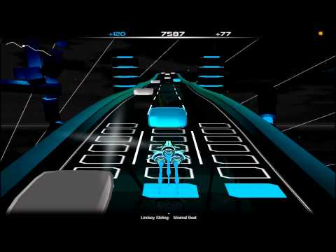 Lindsey Stirling - Minimal Beat [Audiosurf] (HD 1080P)