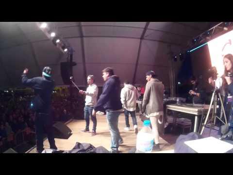 Migi VS 4T Lucha de 3ºs Gold Battle Nacional Almería 2015