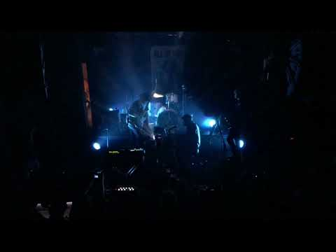 "Algiers playing ""Death March"" live @Temple Athens, 10.02.2018, Greece"