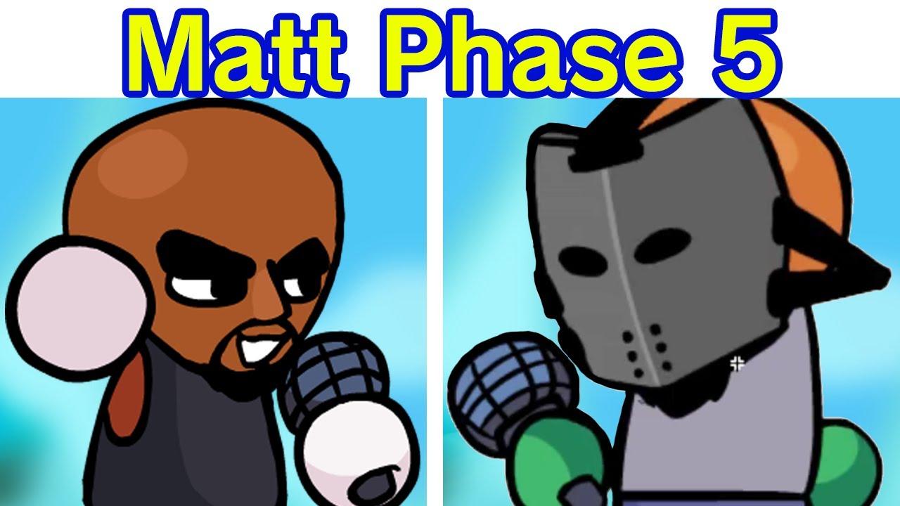 Friday Night Funkin' - VS Matt Phase 5 (Rematch) [3.2 UPDATE] [Wii Funkin' / WIIK 3] [HARD FNF MOD]
