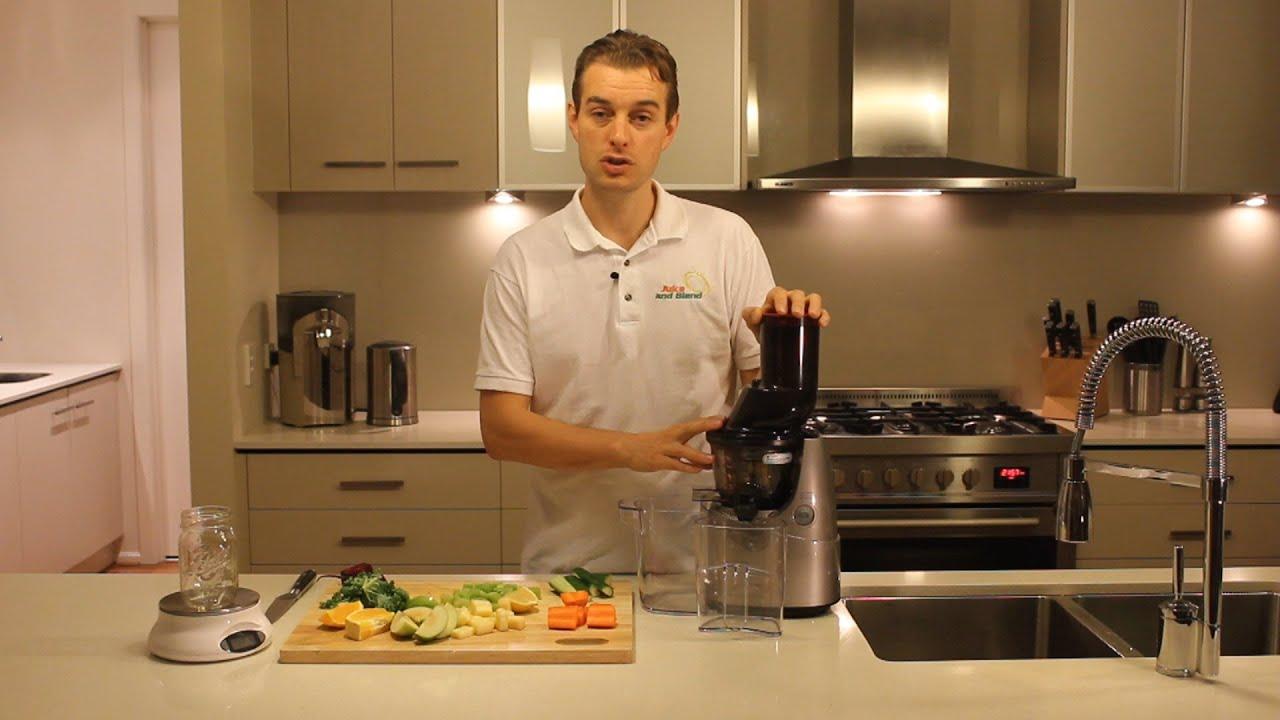 Kuvings Whole Slow Juicer New Zealand : Juice and Blend Juicer Test - Kuvings B6000 Whole Slow ... Doovi
