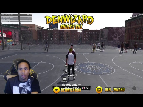 NBA 2K18 - Streaking In Playground, pro am later!