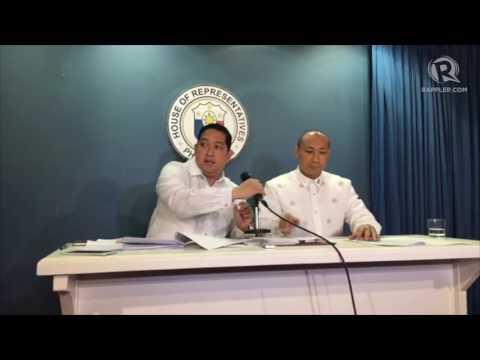 First impeachment complaint filed vs Duterte