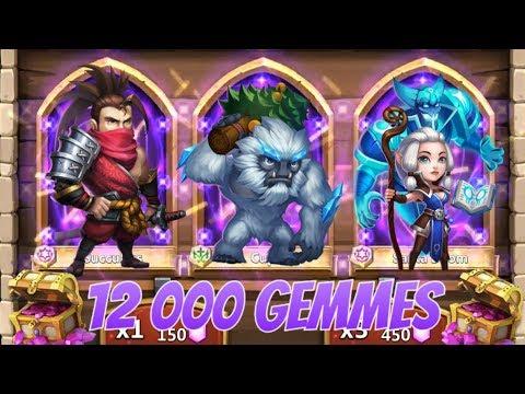 Chance Extrême ! - Tirage De 12 000 Gemmes - Castle Clash