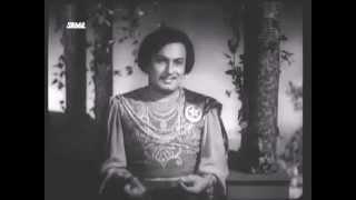 TALAT MAHMOOD SINGS FOR MGR   GUL E BAKAWALI 1956   HINDI REMIX