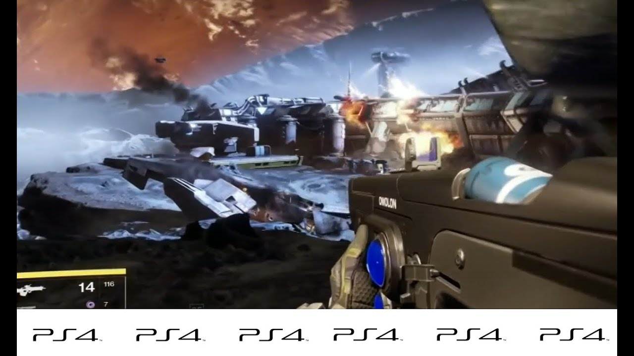 Destiny The Taken King PS4 Gameplay A PlayStation 4 Action
