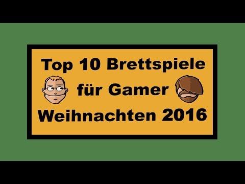 Top 10 Brettspieler für Gamer - Weihnachten 2016 Geschenktipps