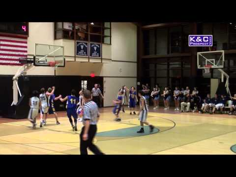 "Gavin Dibble Basketball Highlight Video - 5'10"" Guard - Greenport High School (NY) 2014"