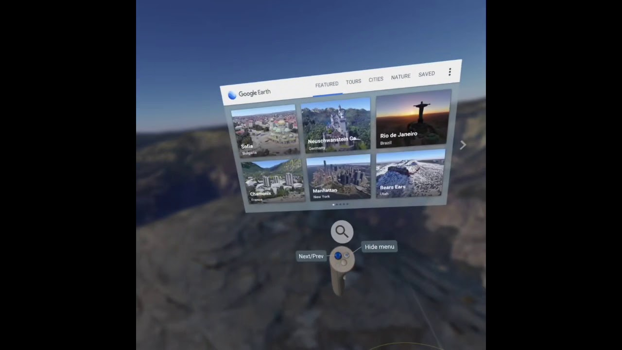 Oculus Quest Virtual Desktop PC SteamVR Apps With SideQuest: Google Earth,  Blocks, The MOR