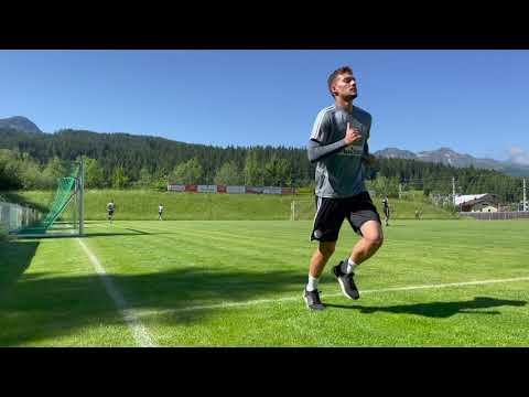 Ostatni trening piłkarzy Legii w Austrii