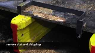 How To Repair Slab Table Edges