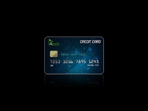 How to Design a Credit Card   Photoshop Tutorial