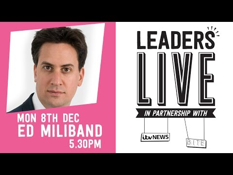 Labour (Ed Miliband) - Leaders Live