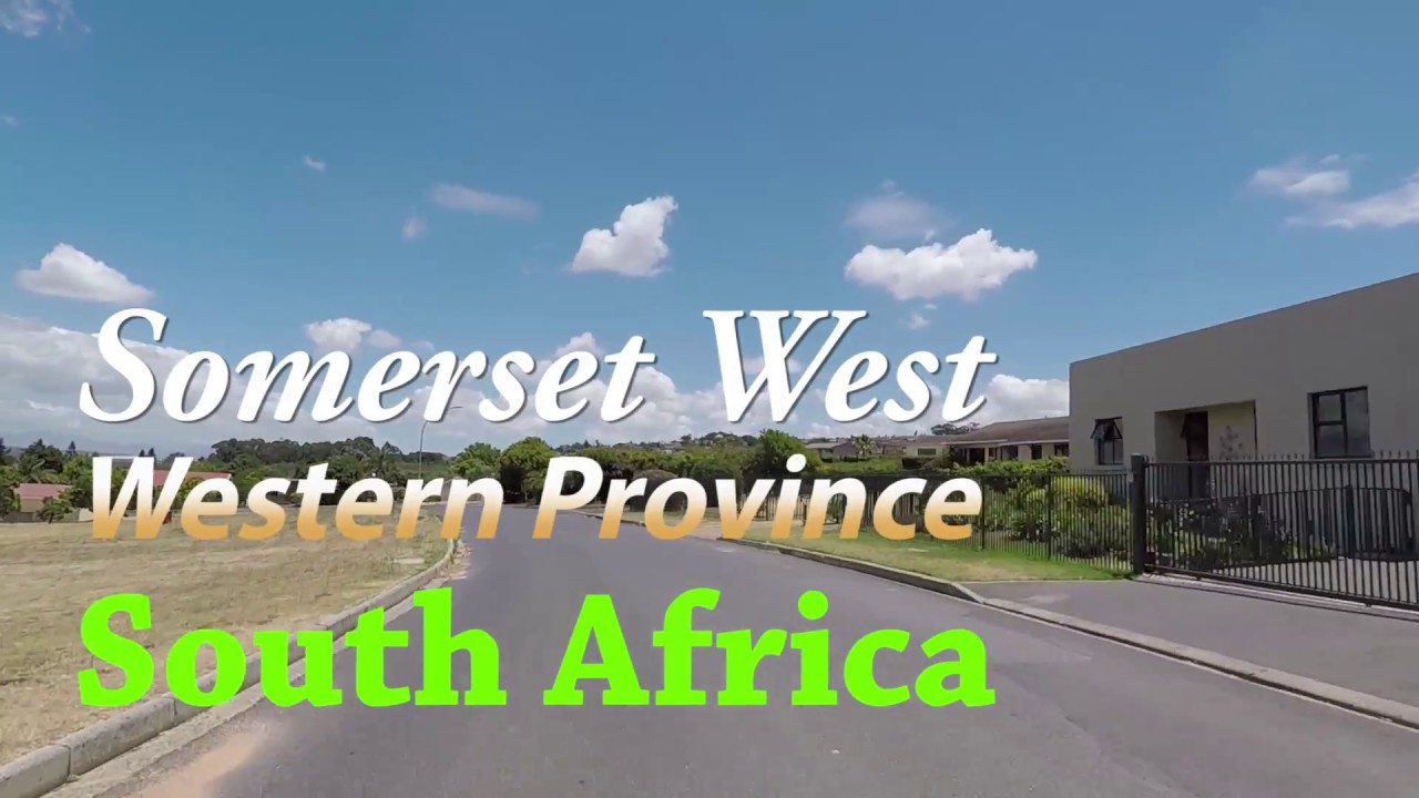 Somerset West, Western Cape, South Africa Dash Cam.